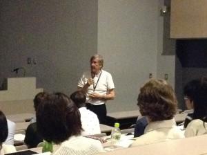 Rod Ellis at Anaheim Open TESOL, Tokyo 2014