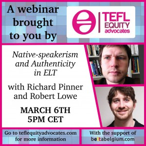 tefl_equality_authenticity_nativespeakerism